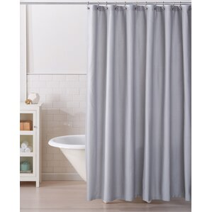shower curtain in ucwords for grey