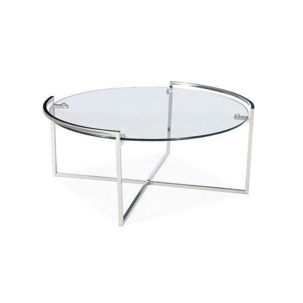 Osibodu Cross Legs Coffee Table By Ebern Designs