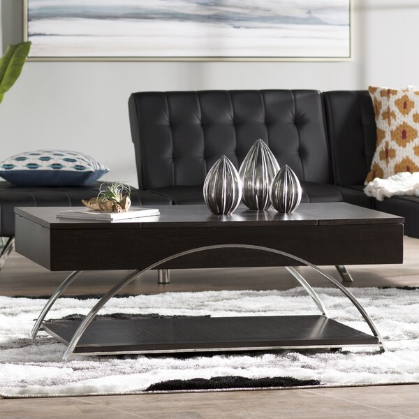 Troxler Lift Top Coffee Table by Wade Logan
