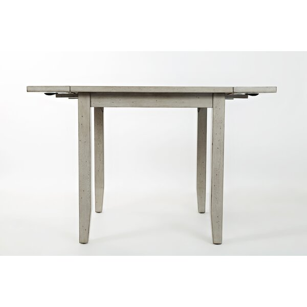 Leigh Extendable Dining Table by Red Barrel Studio Red Barrel Studio