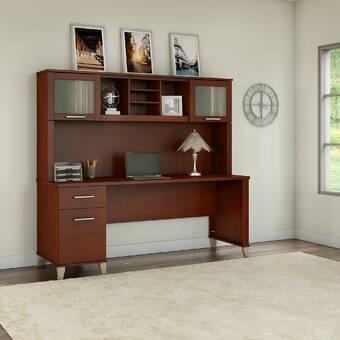 17 Stories Oecusse Desk With Hutch Reviews Wayfair