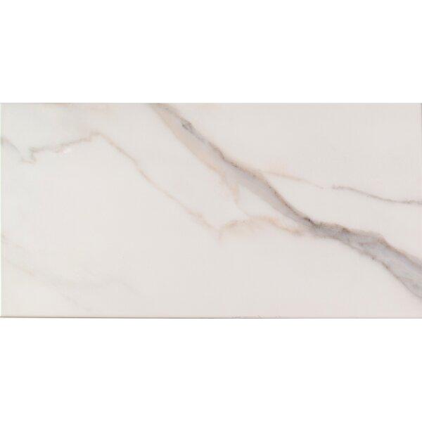 Adella 12 x 24 Ceramic Field Tile in White/Cream by MSI
