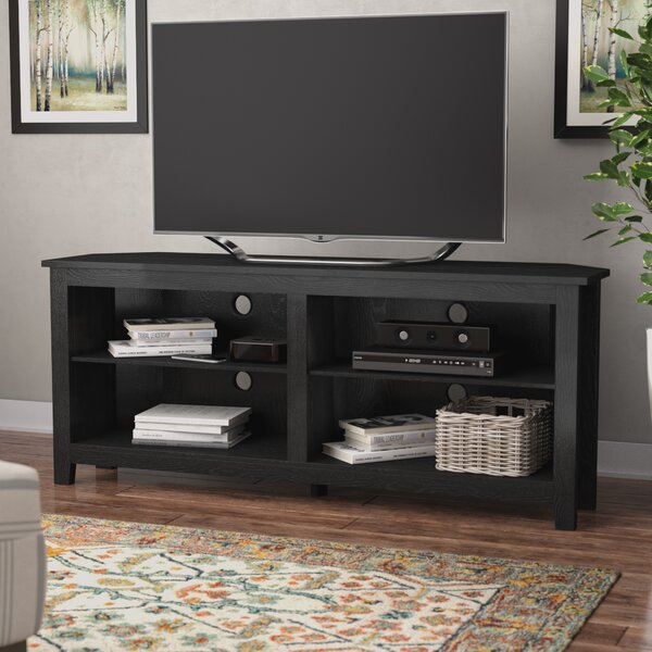Comparison Sunbury Corner TV Stand for TVs up to 65 by Beachcrest Home