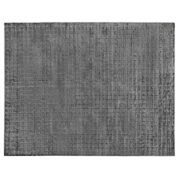 Kingsley Hand-Woven Gray Area Rug by Exquisite Rugs