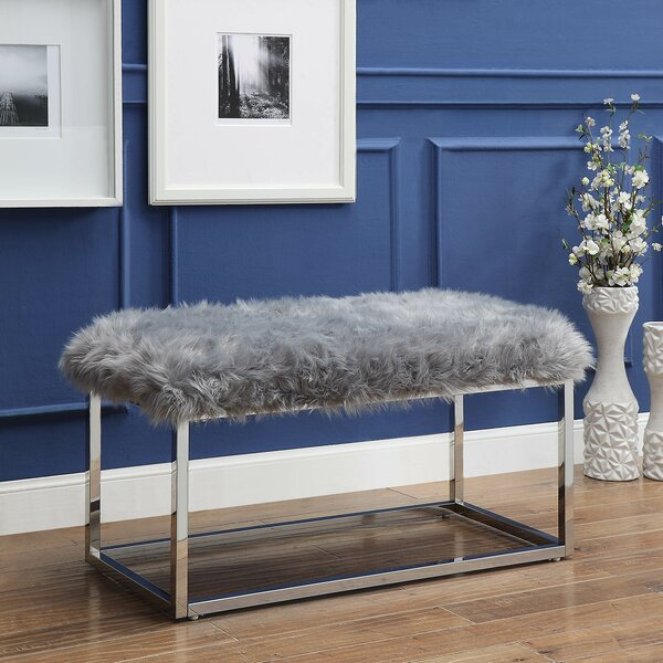 Brenley Upholstered Bench by Rosdorf Park