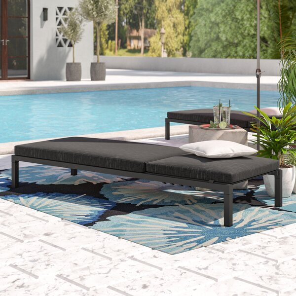 Dimatteo Modern Chaise Lounge by Ivy Bronx