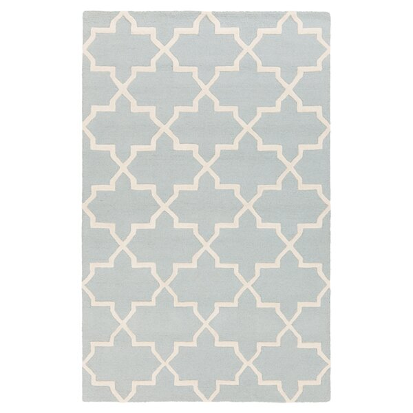 Blaisdell Blue Geometric Keely Area Rug by Charlton Home