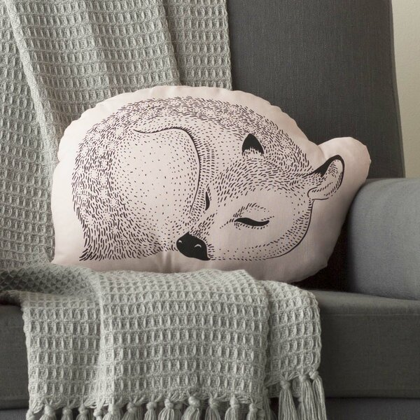 Ludwig Cotton Throw Pillow by Viv + Rae