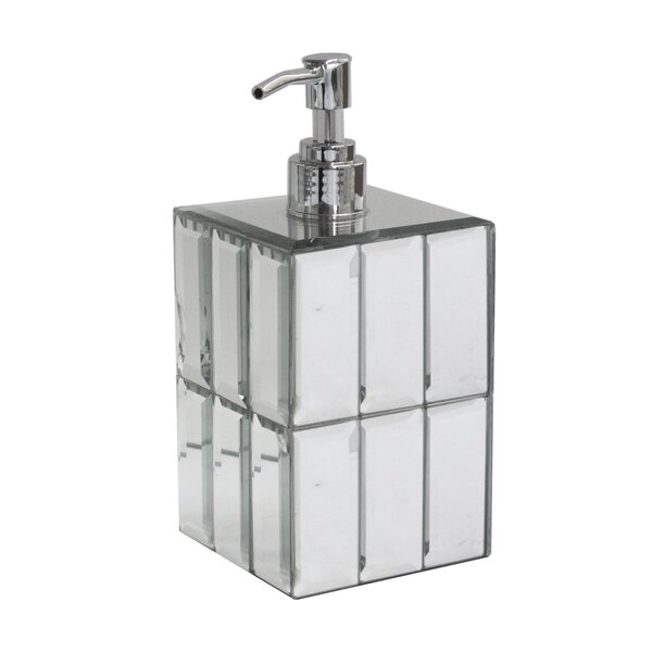 Cessna Tile Mirror Soap Dispenser by House of Hampton