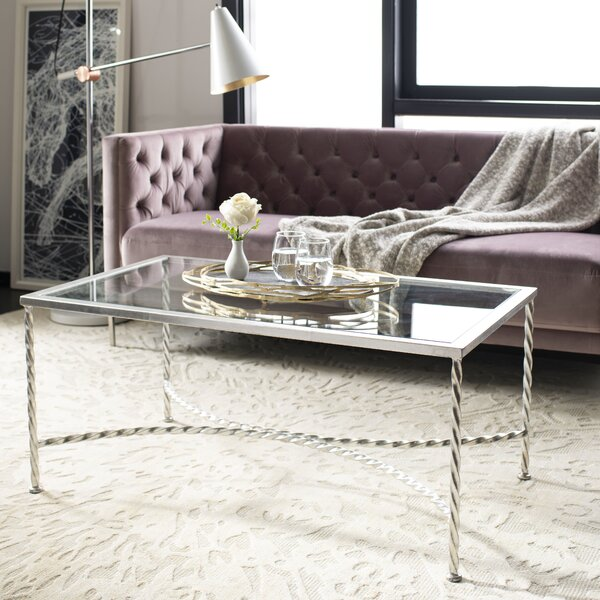 Reynaldo Glass Top Coffee Table by Willa Arlo Interiors
