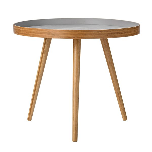 Bevers Bamboo End Table by Langley Street