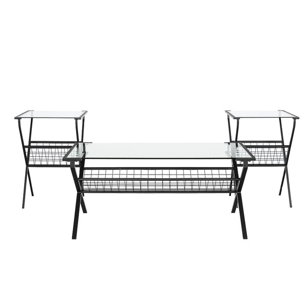 Glebe 3 Piece Coffee Table Set By Ebern Designs