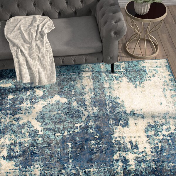 Montross Blue Area Rug by Trent Austin Design