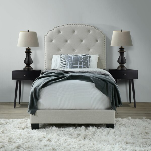 Noelie Upholstered Standard Bed by Willa Arlo Interiors