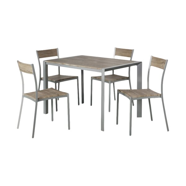 5 Piece Dining Set by AC Pacific