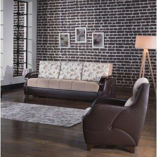 Northstate 2 Piece Sleeper Living Room Set by Red Barrel Studio®