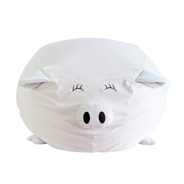 Pigster the Pig Kids Bean Bag Chair by Nursery Smart