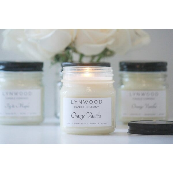 Vanilla Scented Jar Candle by Lynwood Candle Company