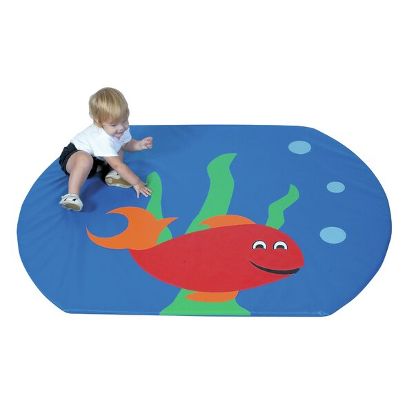 Fish Bowl Floor Mat by Children's Factory