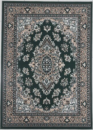 Haile Emerald Green Area Rug by Alcott Hill