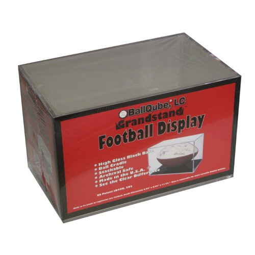 Grandstand UV Protective Football Display Case by BallQube