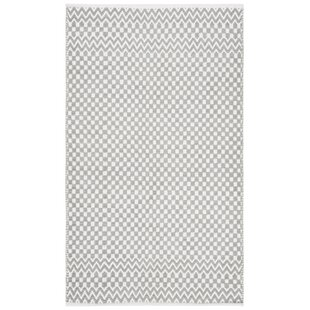 Best Deals Redbrook Hand-Tufted Cotton Gray Area Rug By Wrought Studio