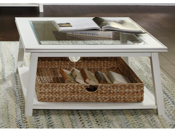 Meagan Coffee Table by Beachcrest Home