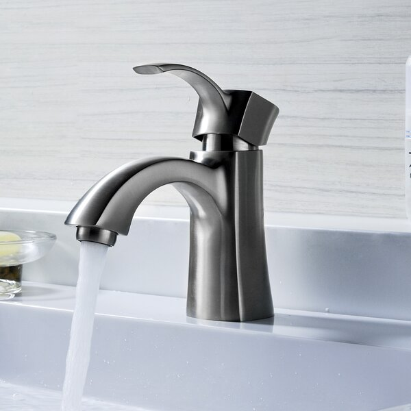 Alto Single Hole Bathroom Faucet with Drain Assembly by ANZZI