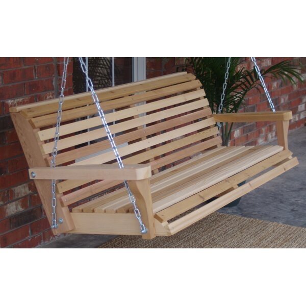 Hinkel Classic Porch Swing by Highland Dunes