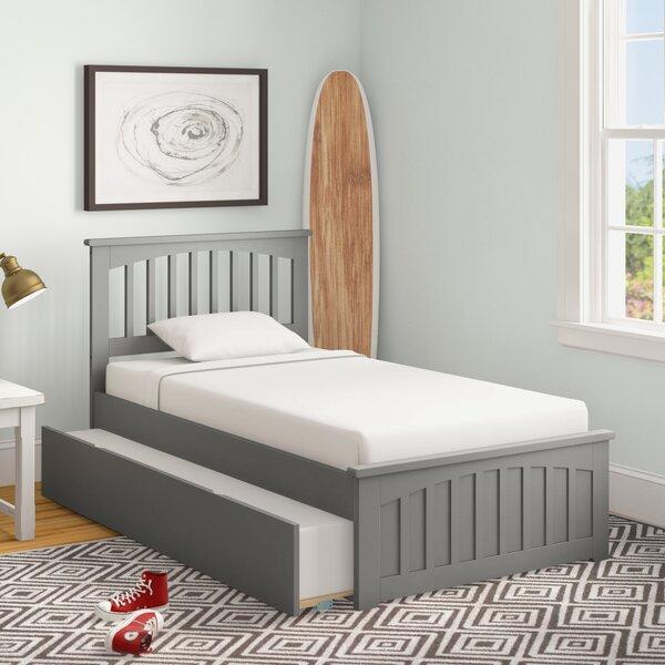 Caulksville Twin Platform Bed with Trundle by Three Posts Baby & Kids