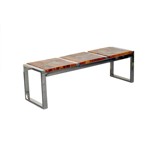 Pene Wood bench by Bloomsbury Market