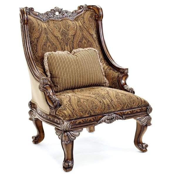 Cleland Armchair By Fleur De Lis Living by Fleur De Lis Living Great price