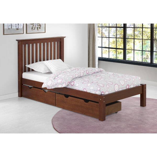 Ratcliff Platform Bed with Drawers by Alcott Hill