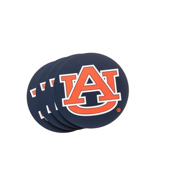 NCAA PVC Coaster (Set of 4) by JW International Imports LTD