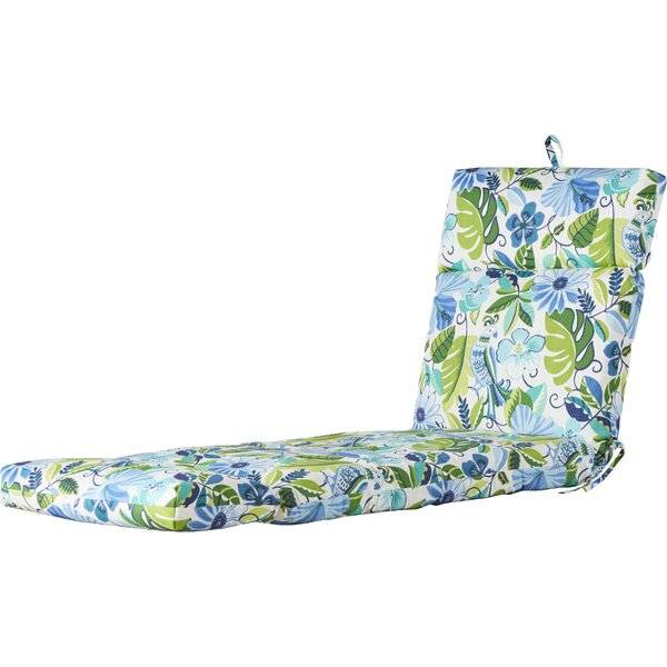 Indoor/Outdoor Chaise Cushion by Highland Dunes