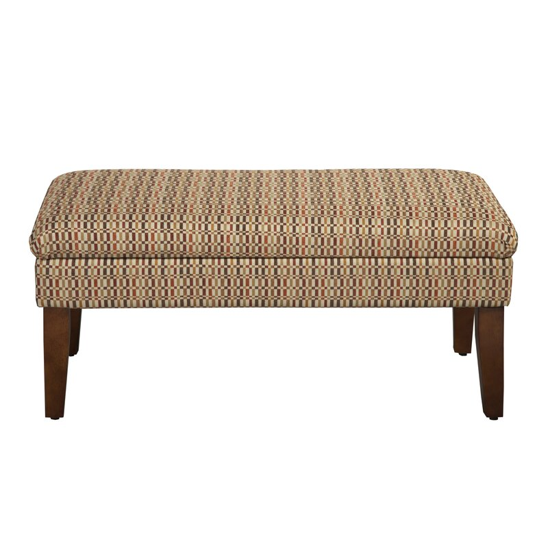 Andover Mills Birkett Decorative One Seat Bench with Storage ...