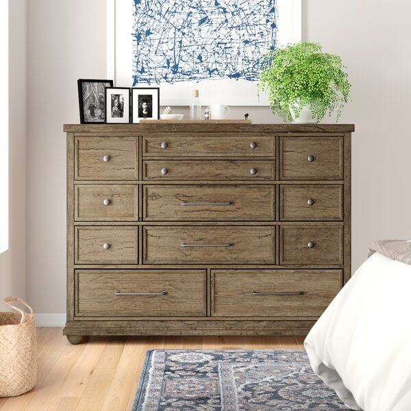 Aberdash 11 Drawer Dresser by Three Posts