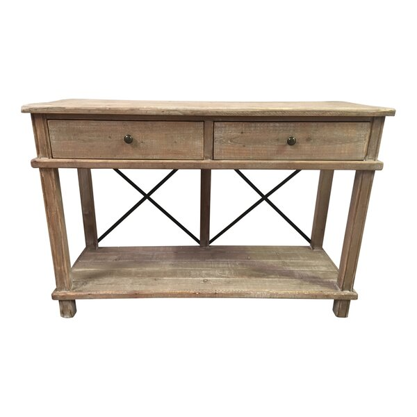 Chew Magna Timber Console Table by Gracie Oaks