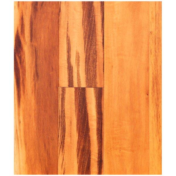 5 Solid Brazilian Tigerwood Hardwood Flooring in Natural by Easoon USA