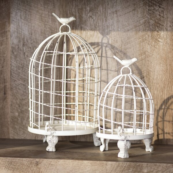 Orla 2 Piece Birdcage Set by Lark Manor