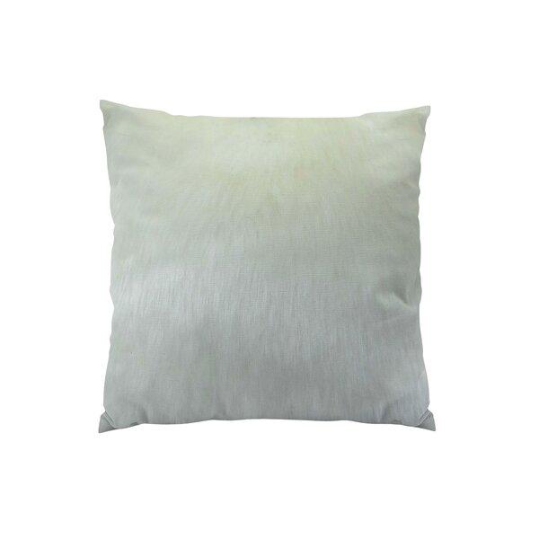 Arctic Fox Handmade Throw Pillow by Plutus Brands