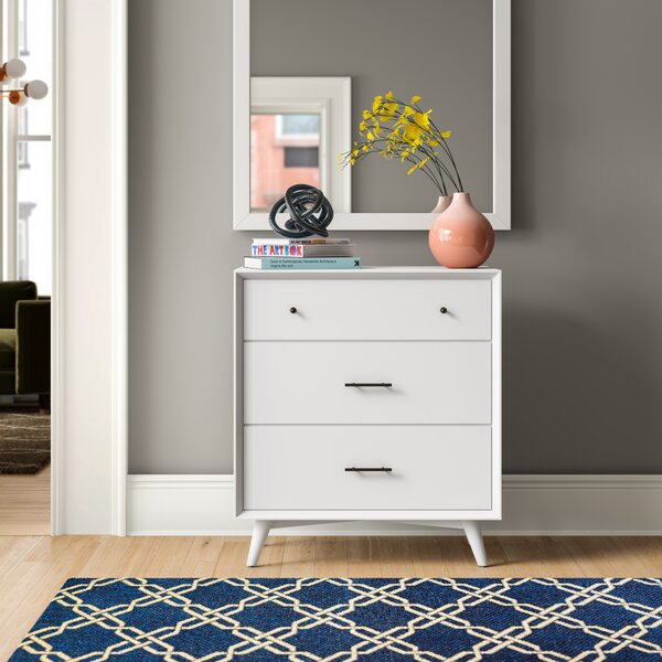Parocela 3 Drawer Chest by Foundstone