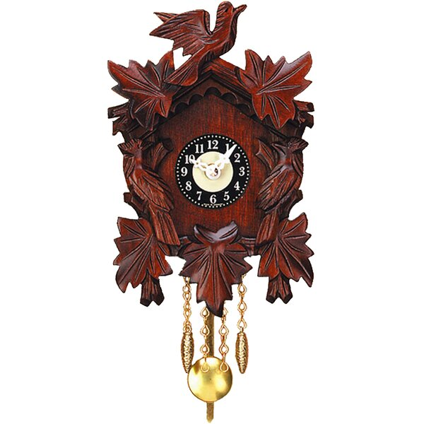 Engstler Battery Operated Wall Clock with Music/Chimes by Alexander Taron