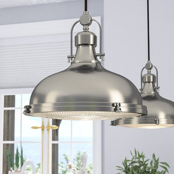 Freeda 1-Light Dome Pendant by Laurel Foundry Mode