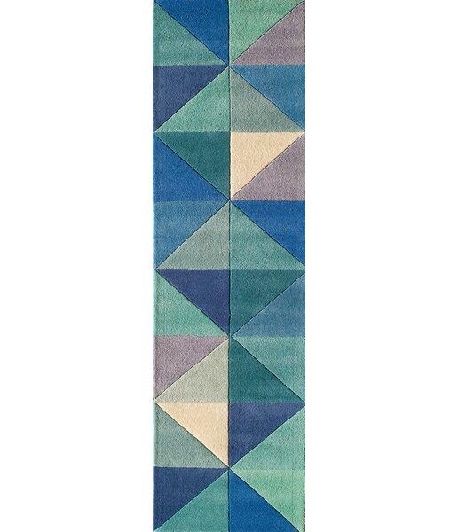 Carmel Hand-Tufted Blue Area Rug by Corrigan Studio