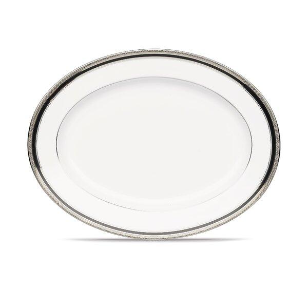 Austin Platinum Oval Platter by Noritake