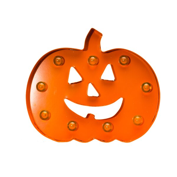Battery Operated 3D LED Pumpkin by Queens of ChristmasBattery Operated 3D LED Pumpkin by Queens of Christmas