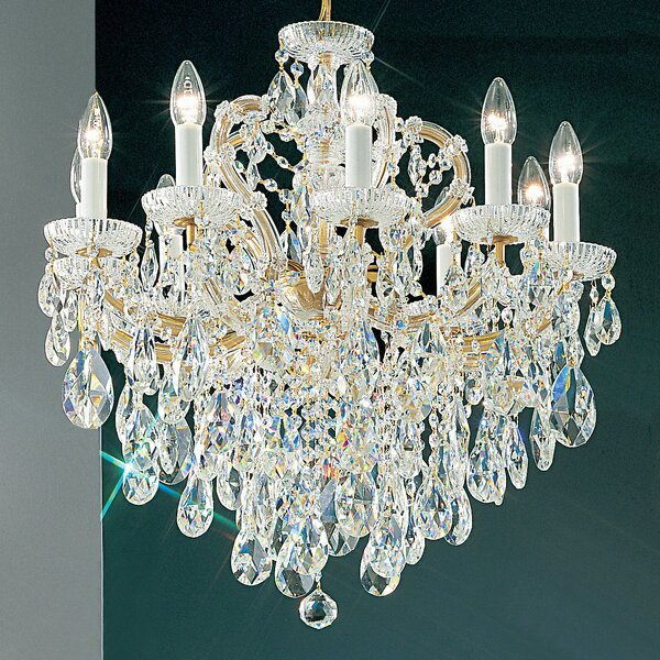 Gregson 10-Light Candle Style Chandelier by House of Hampton