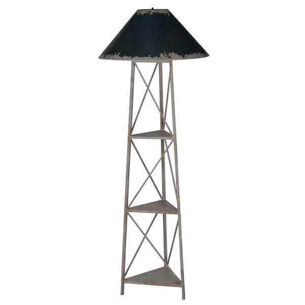 Alda 69 Column Floor Lamp by August Grove