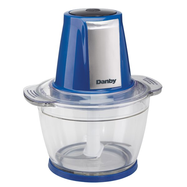 4-Cup Glass Bowl 200 Watt Food Chopper by Danby